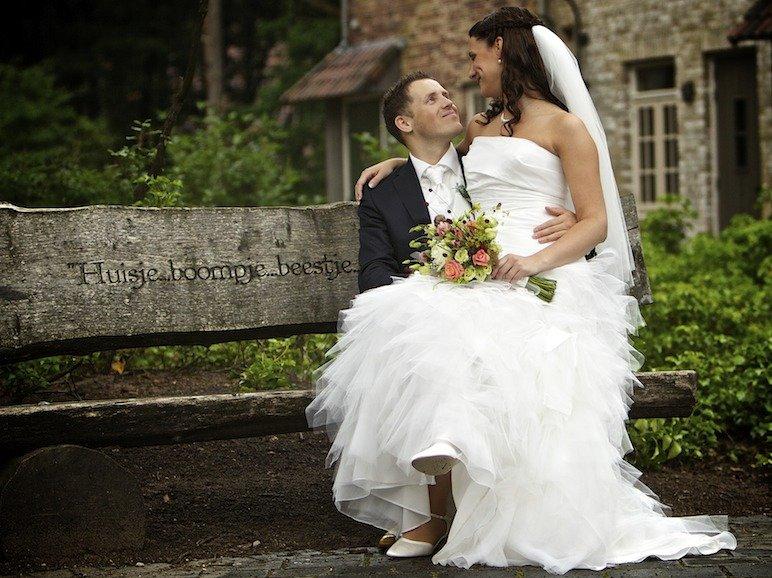 Referentie bruidsfotografie Efteling Bosrijk