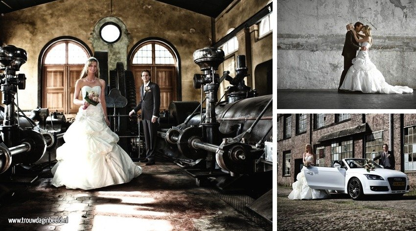Referentie bruidsfotografie Tilburg