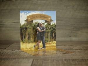 Popup trouwkaart