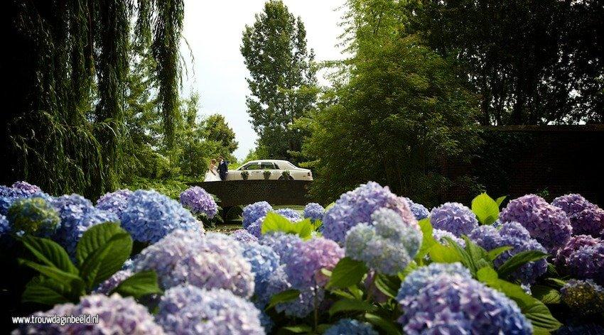 Bruidsfotografie Grathem Kasteel Groot Buggenum