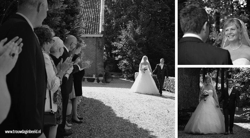 Bruidsfotografie kasteel Wijenburg Echteld