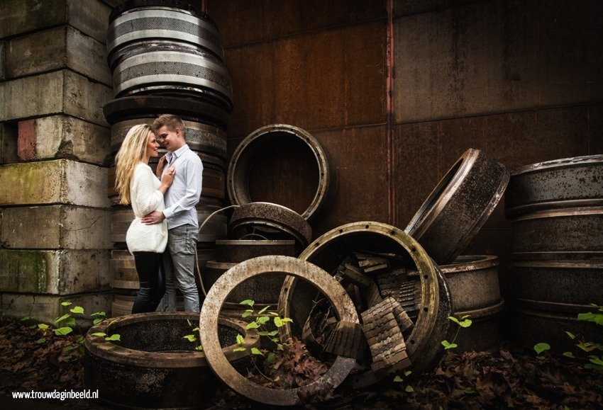 Loveshoot schroothoop en metaalrecycling