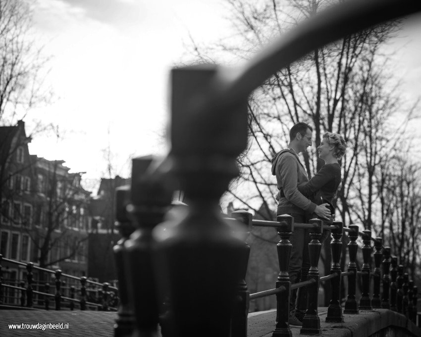 Loveshoot Bram en Marleen in Amsterdam