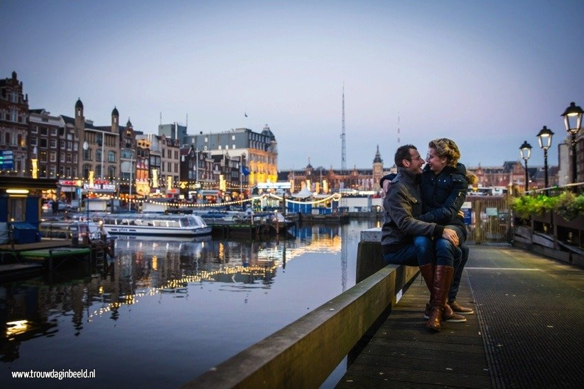 Loveshoot in Amsterdam