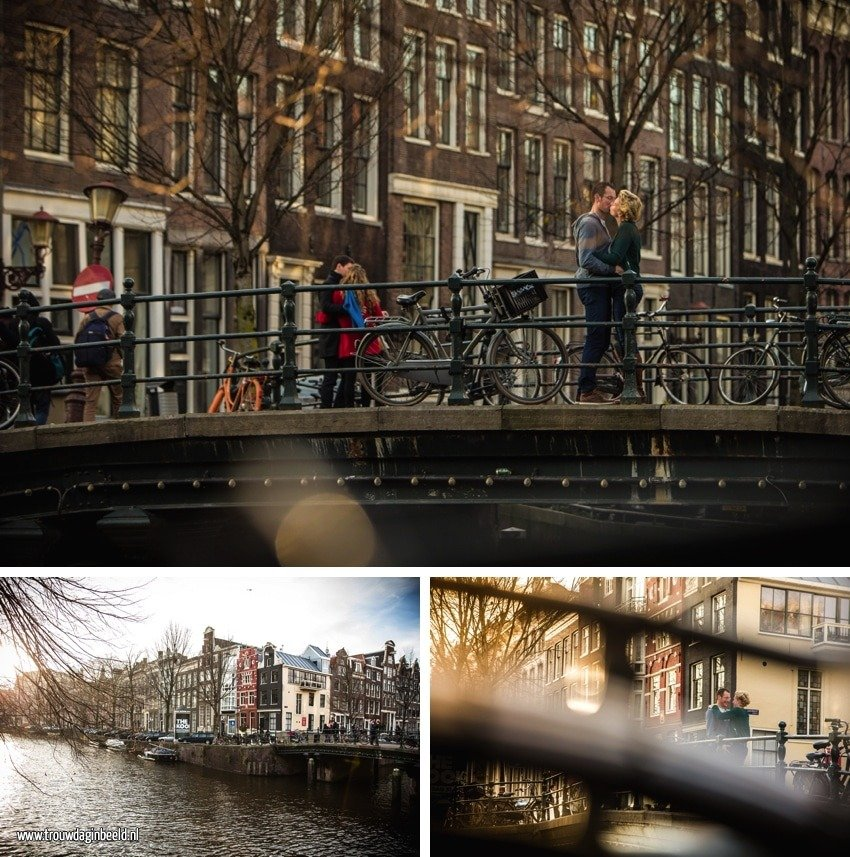 Loveshoot Amsterdam met Bram en Marleen