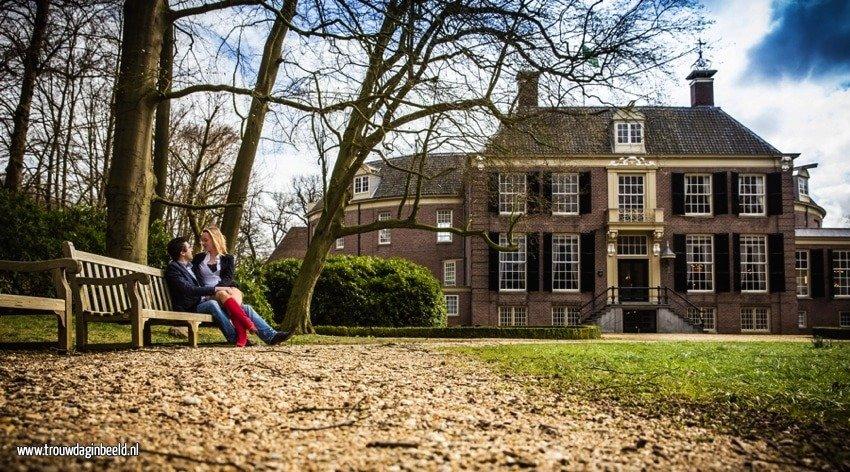 Loveshoot kasteel Groeneveld Baarn