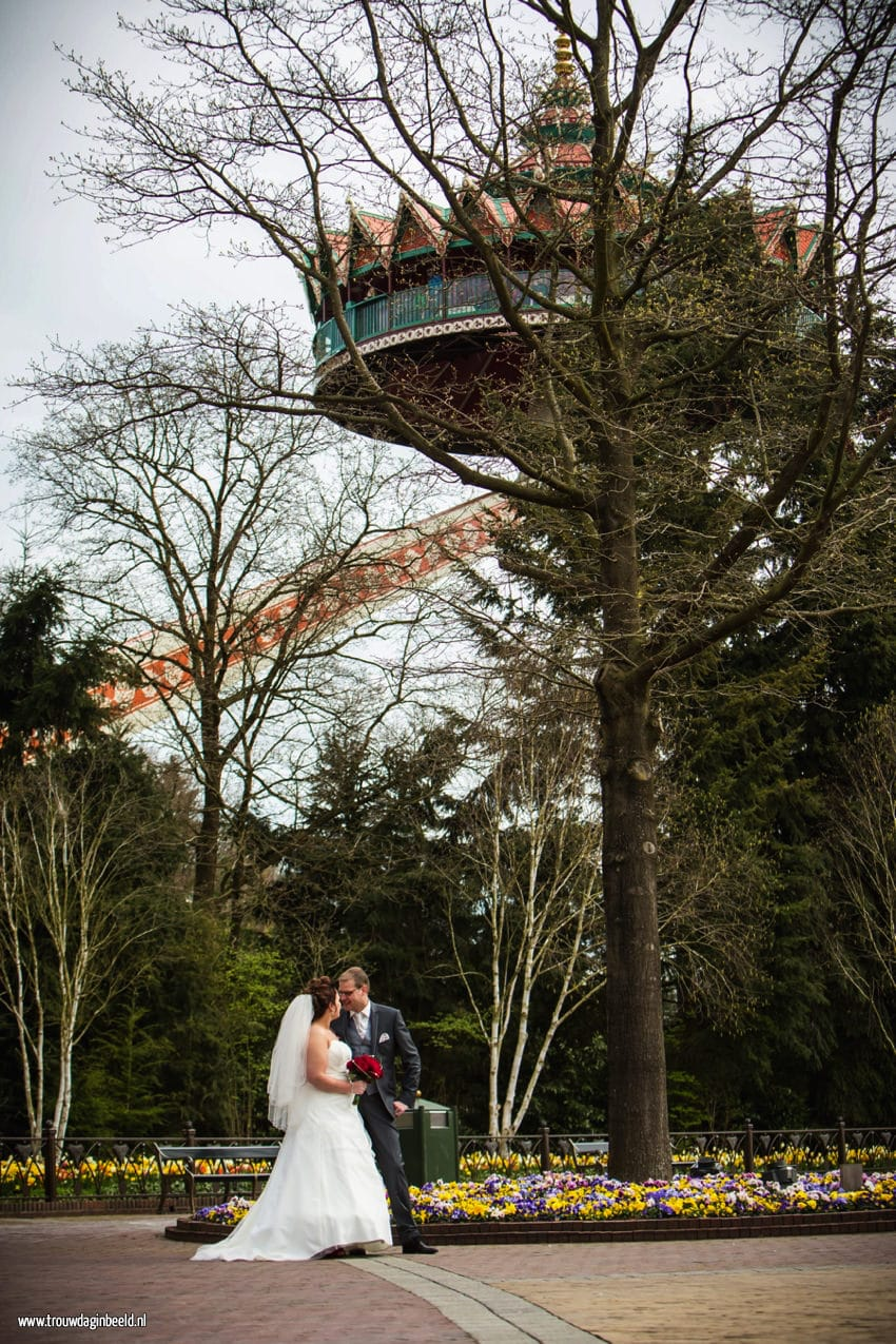 Trouwreportage Efteling Pagode