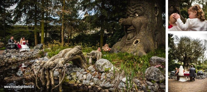 Trouwreportage Efteling Sprookjesboom