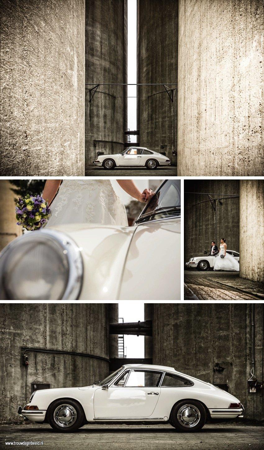 Trouwreportage Porsche 911Koekbouw