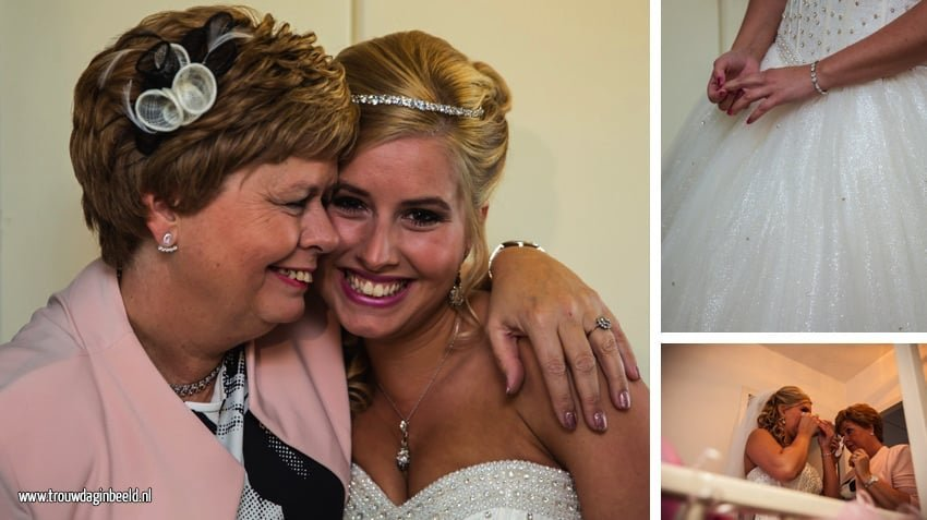 Bruidsfotografie in Goirle Dennis en Chantal