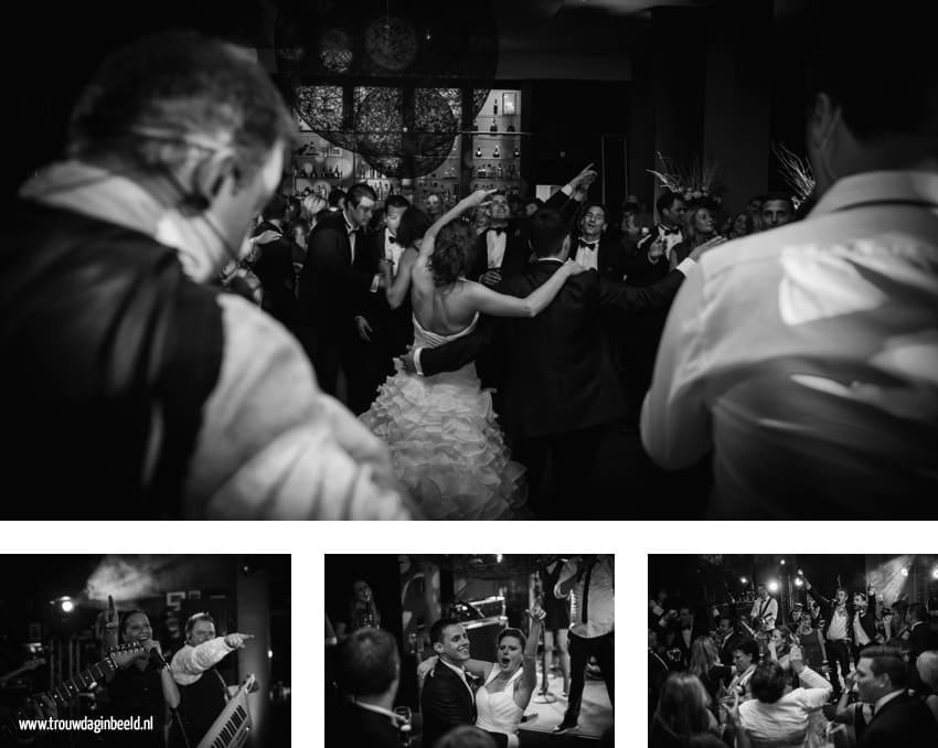 Bruidsfotografie trouwfeest Ozzo Lounge Eindhoven