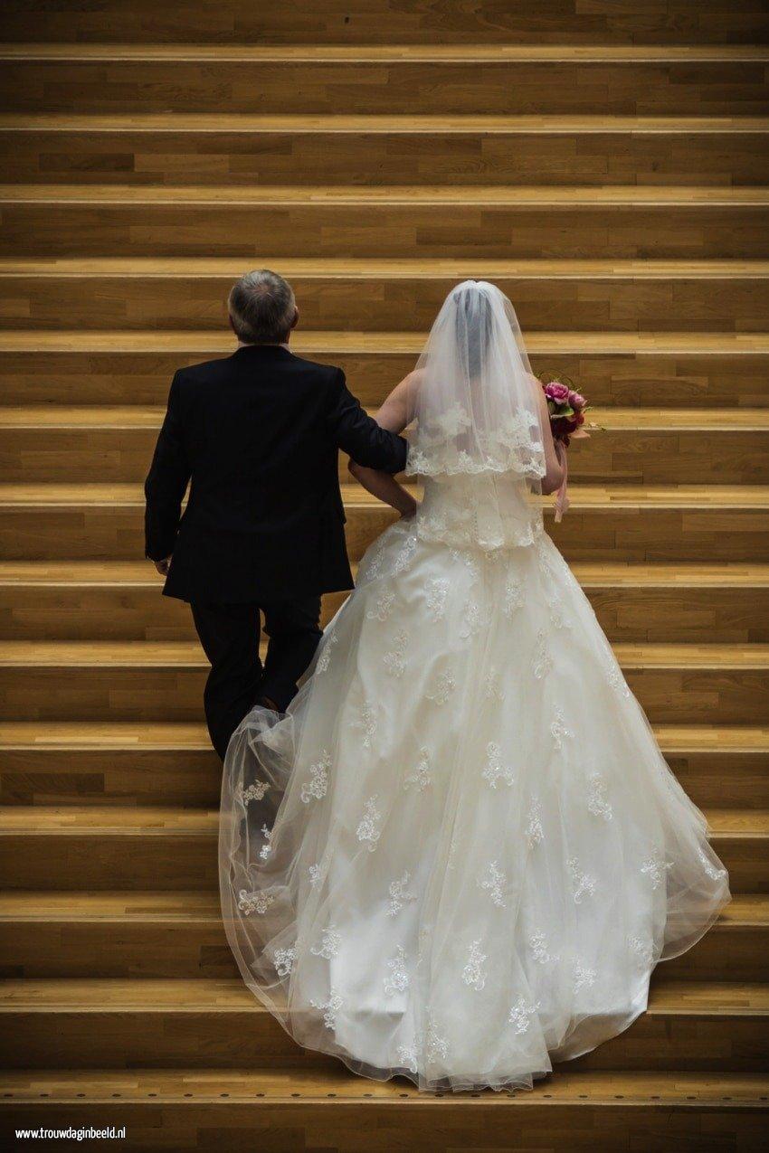 Bruidsfotografie stadhuis Weert