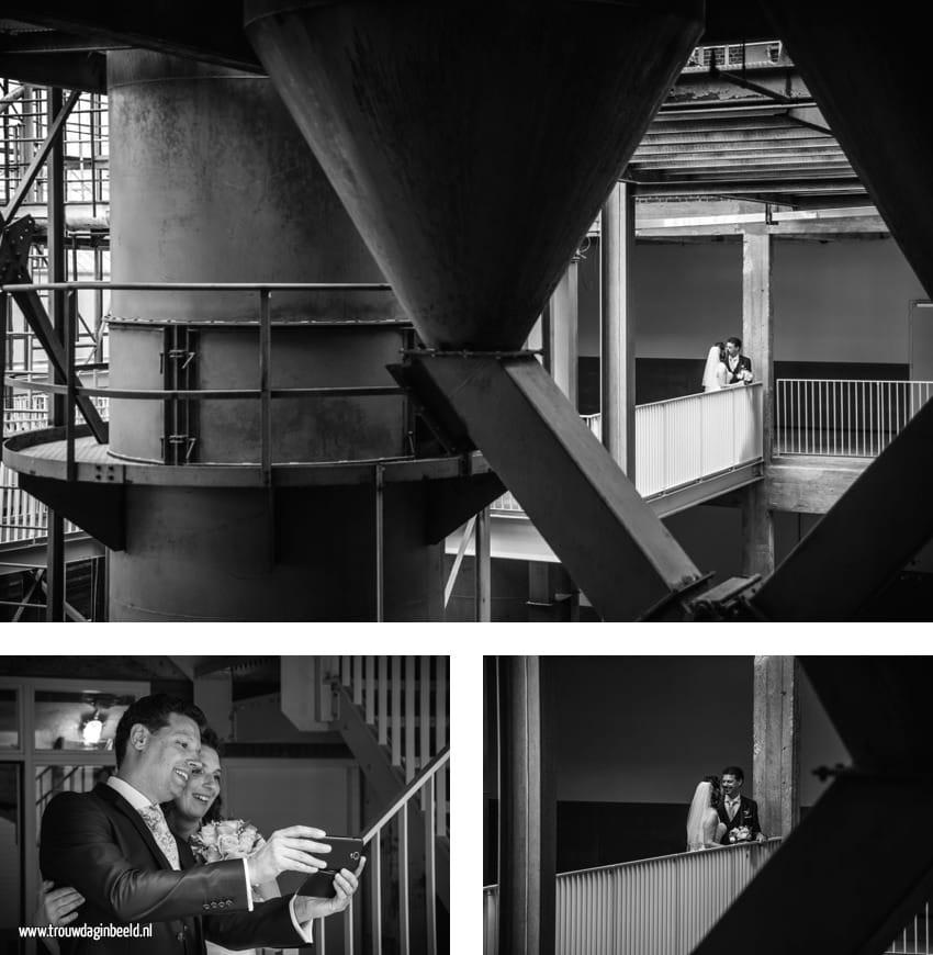 Bruidsfotografie CHV gebouwen Veghel
