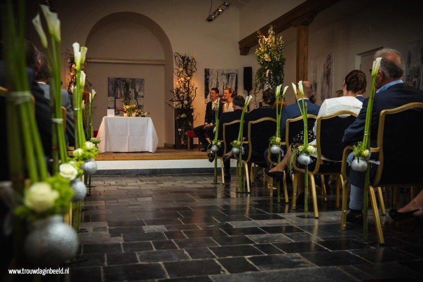 Bloemen en styling bruiloft