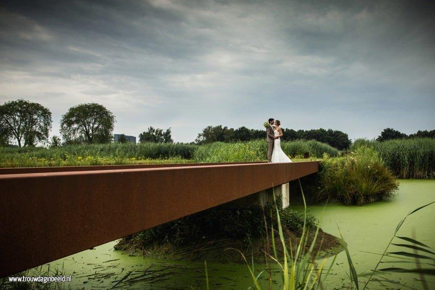 Trouwreportage natuurgebied Moerenburg  en Tilburgse Kermis