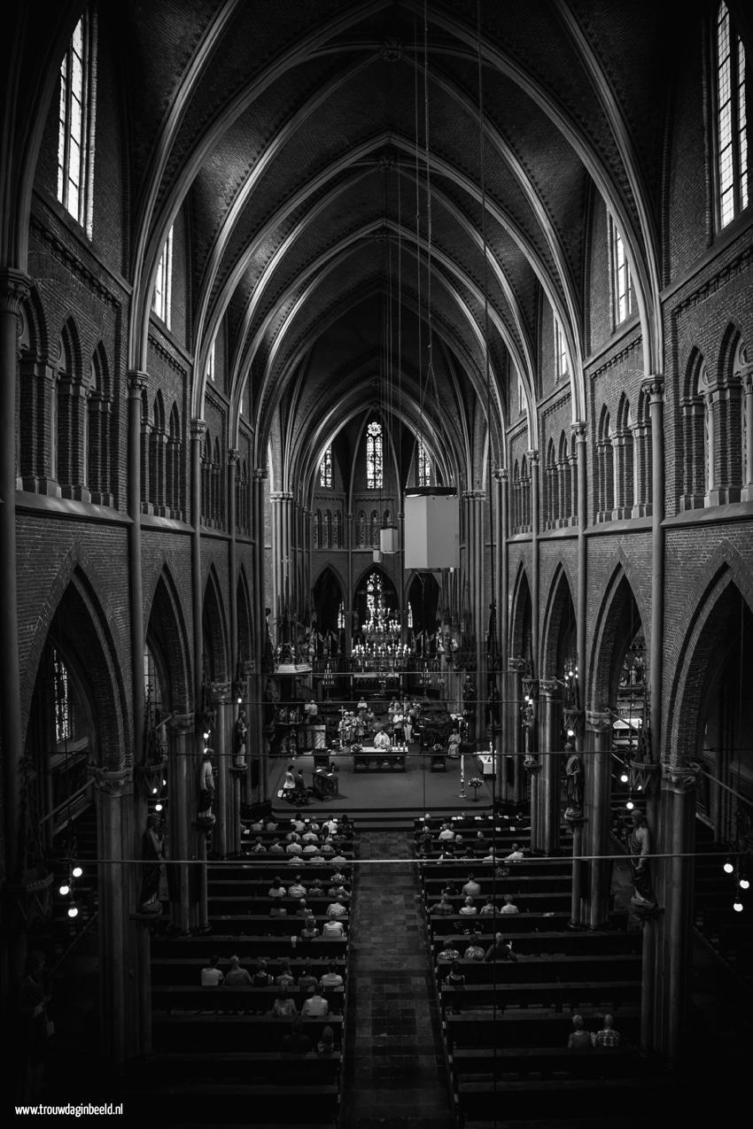 Bruidsfotografie kerk Veghel