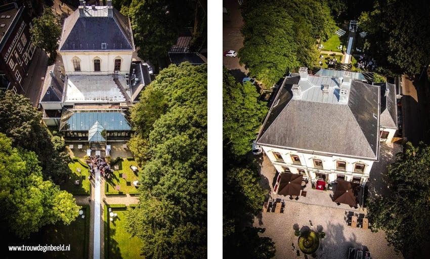 Trouwfotografie Tilburg Villa de Vier Jaargetijden