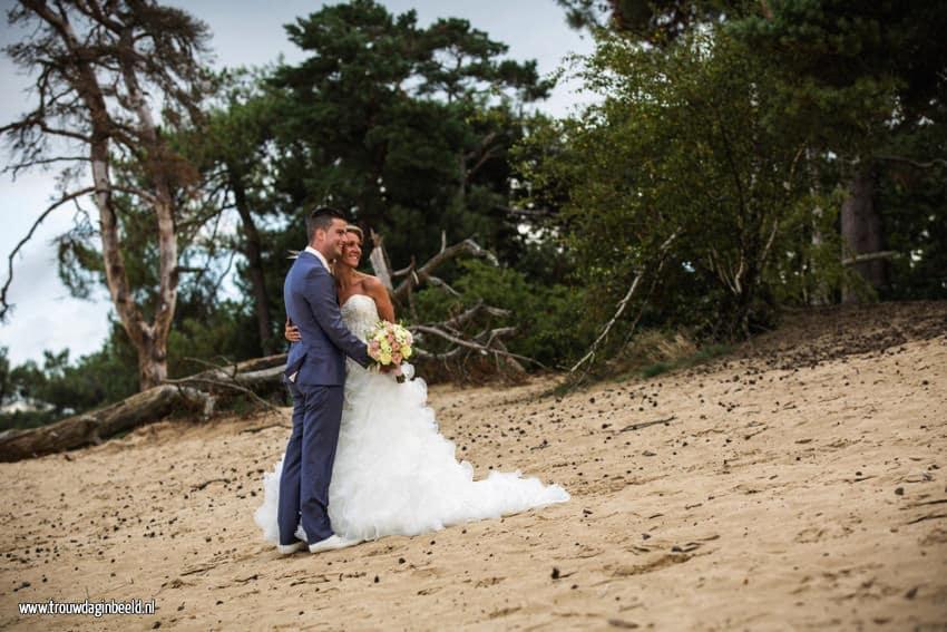 Bruidsfotografie Loonse en Drunense Duinen en Leerfabriek