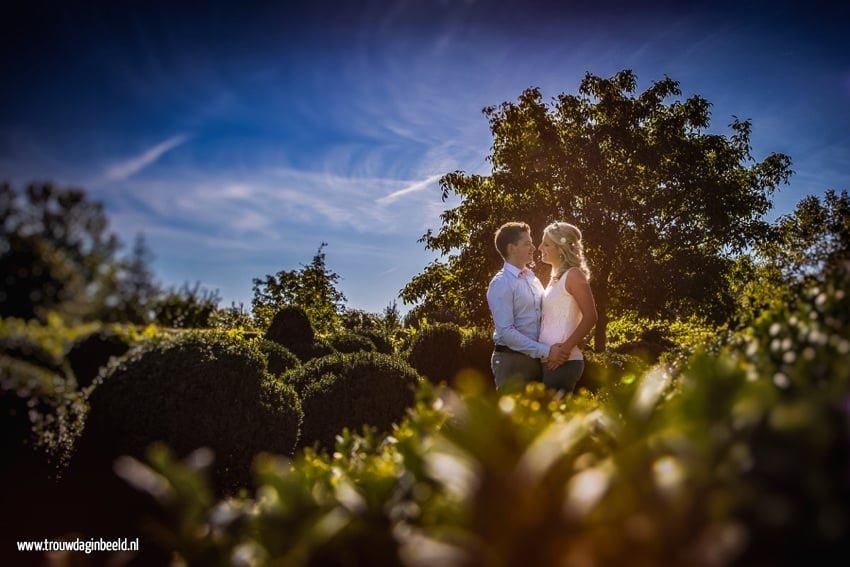Loveshoot Orangerie en Domaine d'Heerstaayen