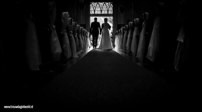 Fotograaf bruiloft kerk Beek en Donk