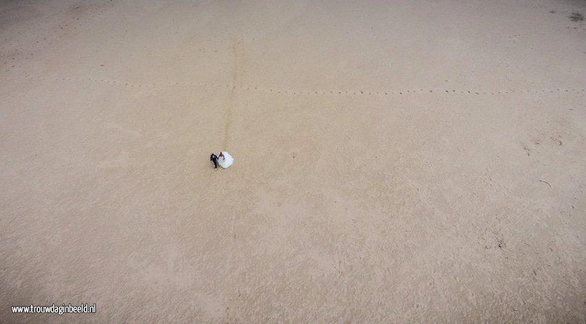 Trouwreportage met drone