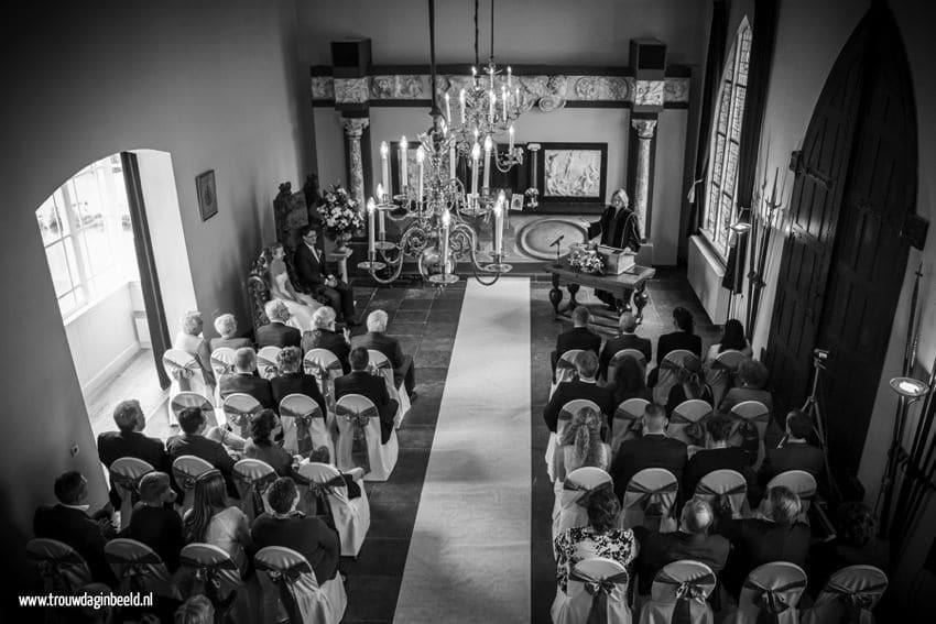 Trouwceremonie Kasteel Heeswijk