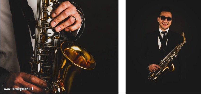 Saxofonist op je bruiloft