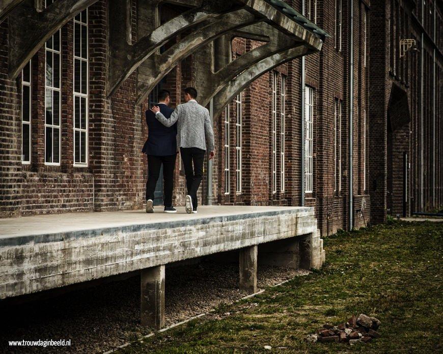 Trouwreportage Leerfabriek in Oisterwijk