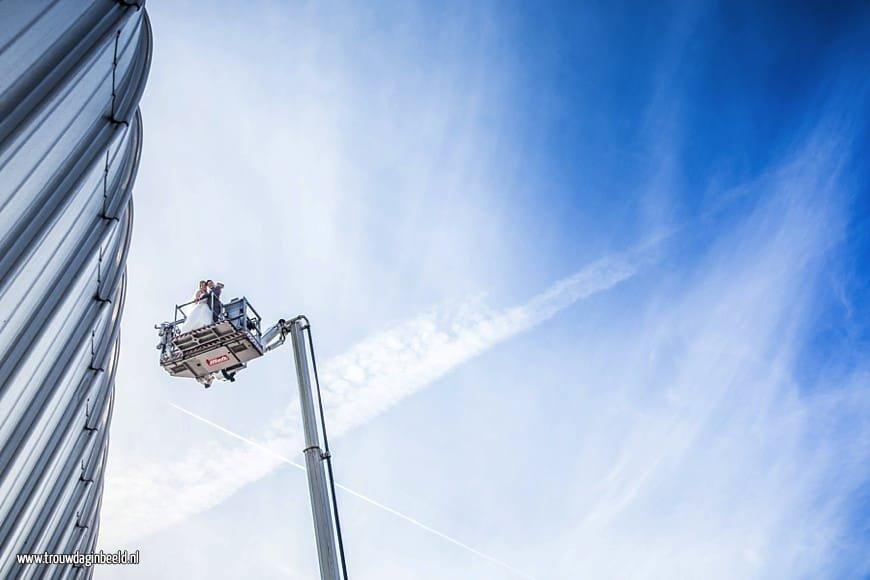Trouwreportage Brandweer Bergen op Zoom