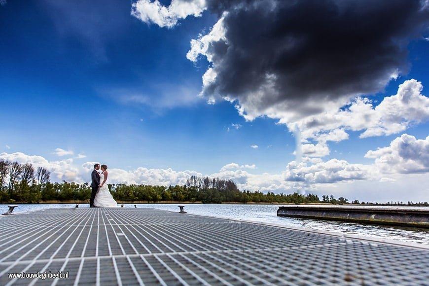Fotograaf bruiloft in de Biesbosch