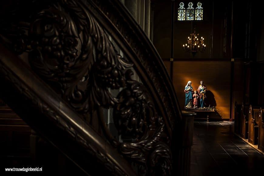 Fotograaf bruiloft kerk Made