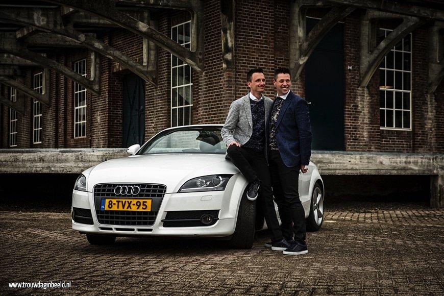 Fotograaf same sex bruiloft Tilburg