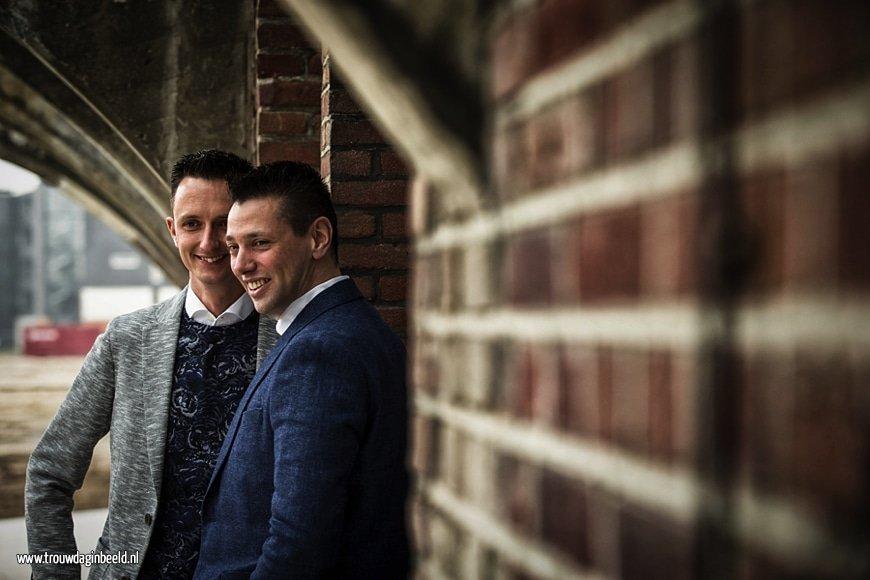 Fotograaf homo bruiloft Tilburg