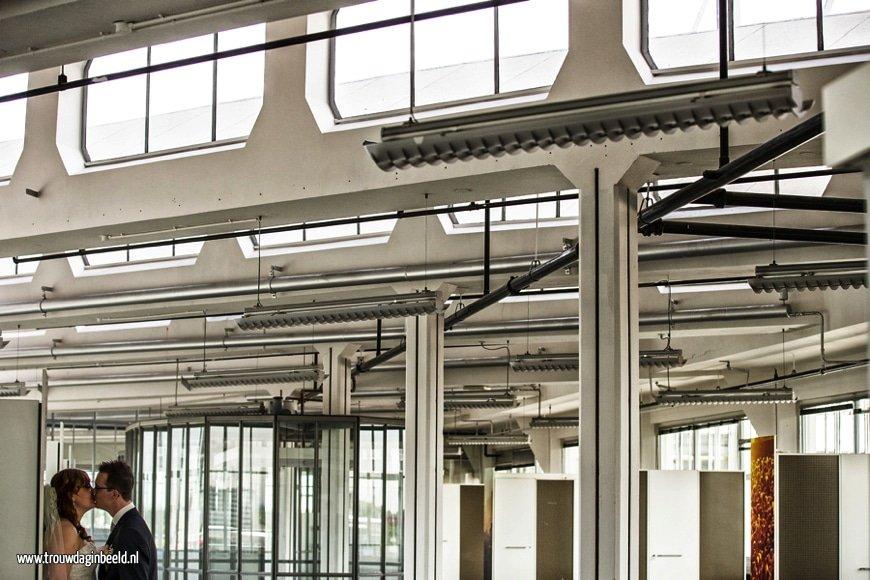 Fotograaf bruiloft Van Nelle fabriek Rotterdam