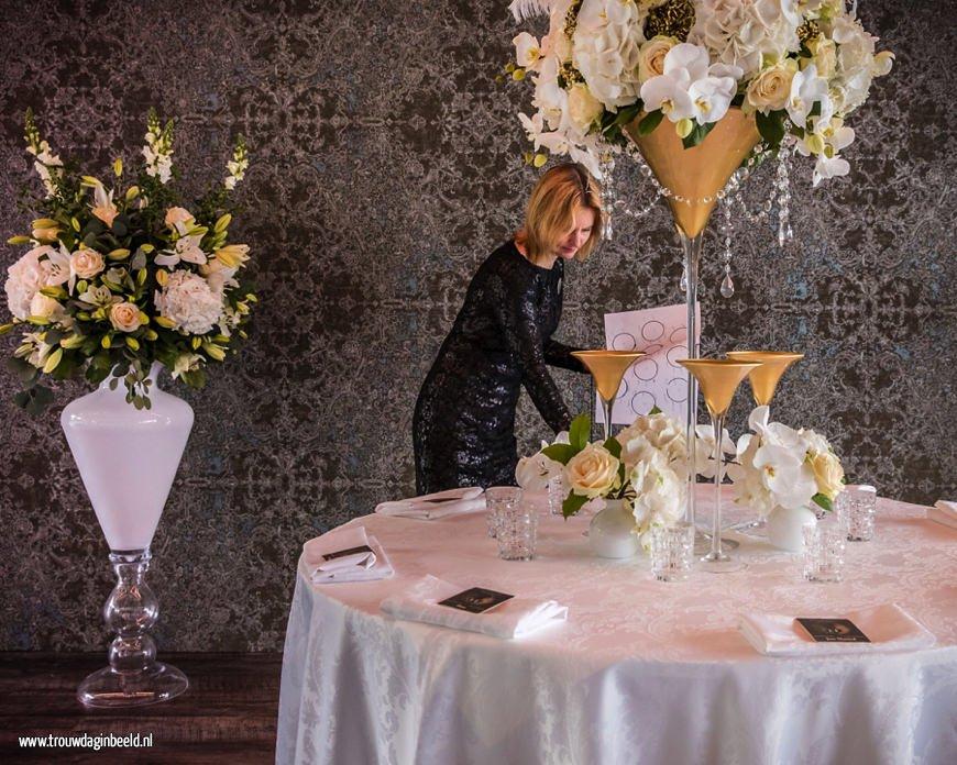 Professionele bruiloft styling Astrid Blaauw