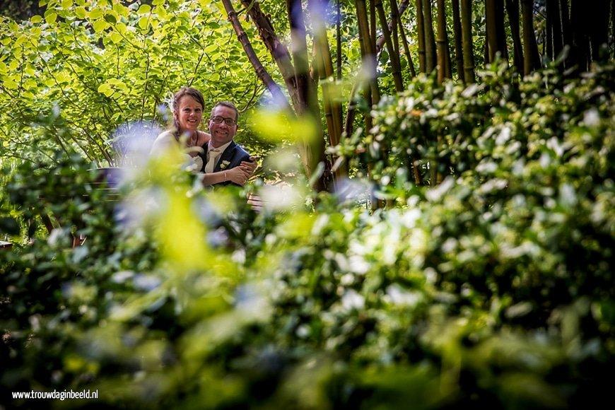 Trouwreportage Botanische tuin Steyl