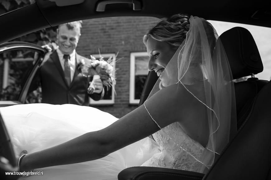 Fotograaf bruiloft bij Domaine d'Heerstaayen