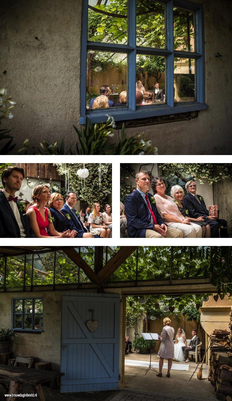 Fotografie bruiloft Domaine d'Heerstaayen