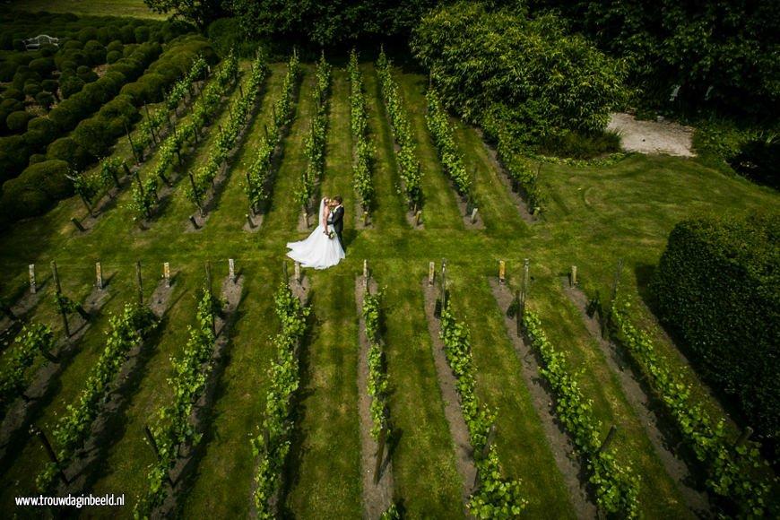 Fotograaf bruiloft Domaine d'Heerstaayen