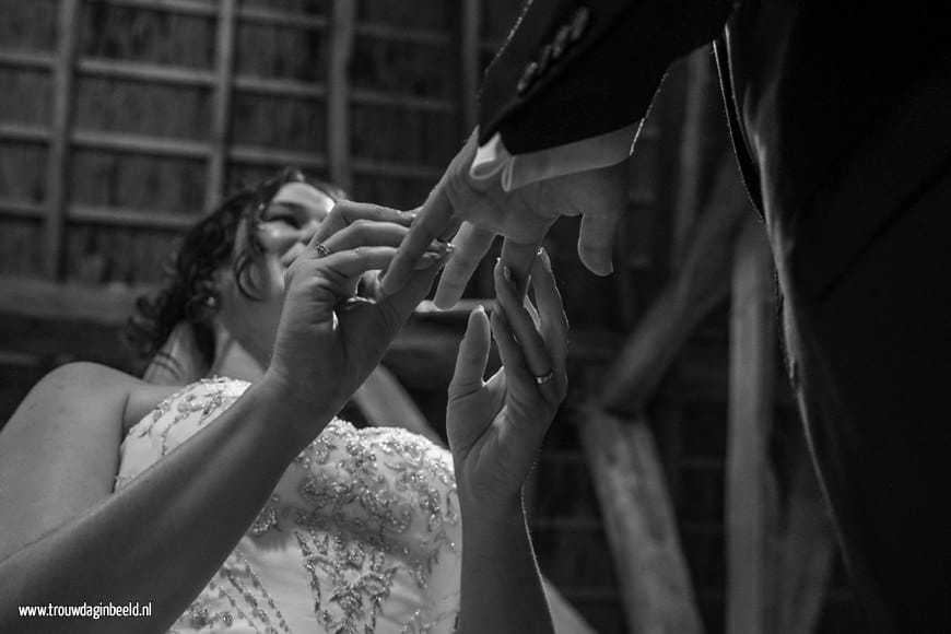 Fotograaf bruiloft de Vlaamsche schuur Dongen