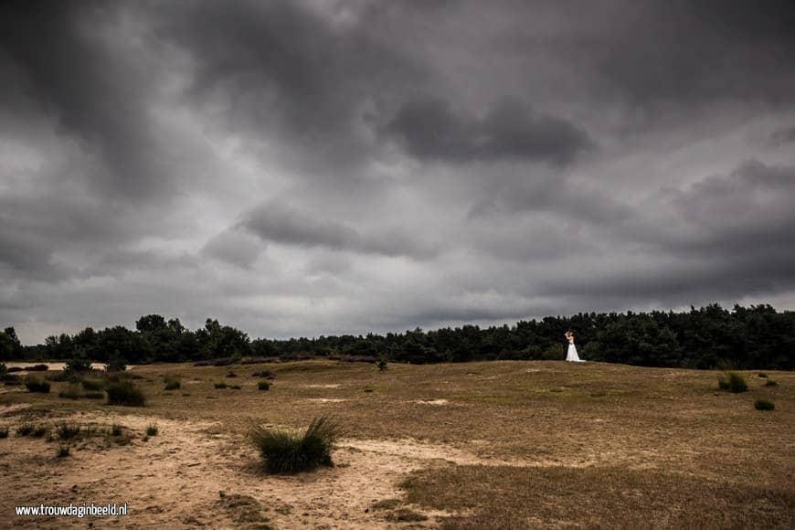 Trouwreportage Sonse Heide