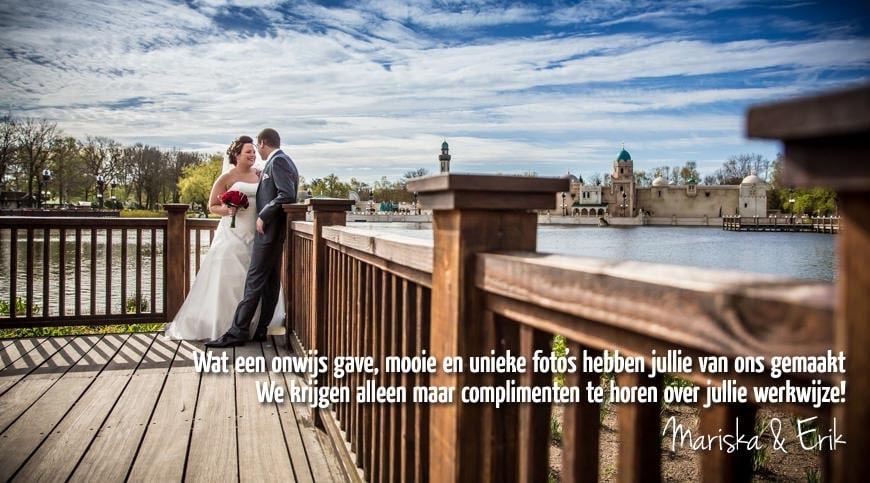 Fotograaf bruiloft Efteling Kaatsheuvel