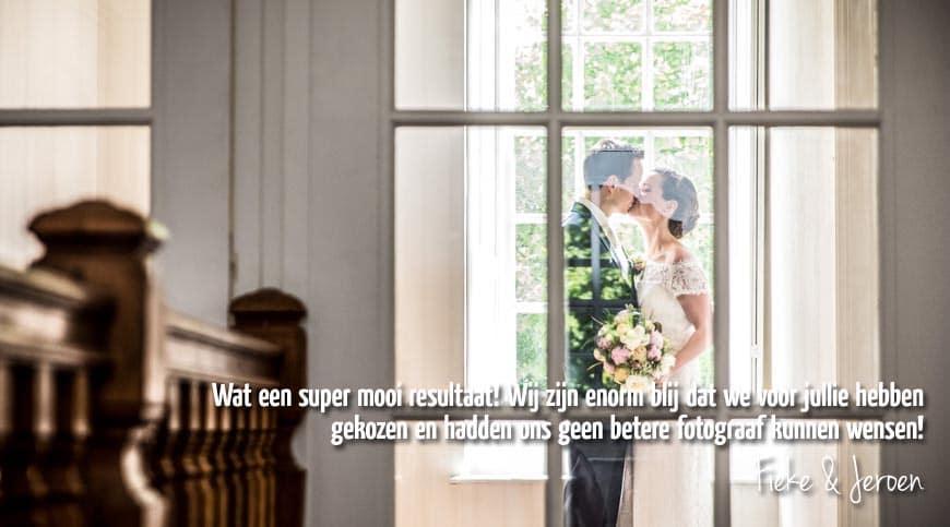 Fotograaf bruiloft Witte Kasteel Loon op Zand