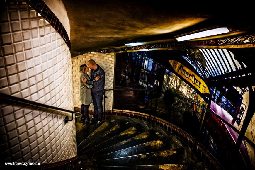 Loveshoot Metro Parijs