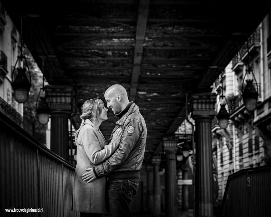 Loveshoot in Parijs