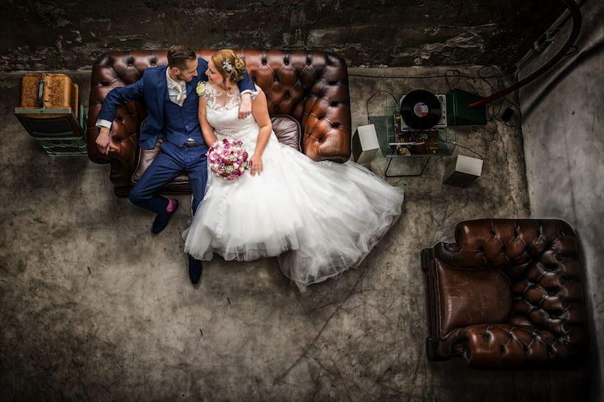 Fotograaf bruiloft Strijp-S Eindhoven