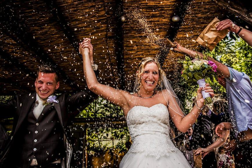 Fotograaf bruiloft Domain D'heerstaayen
