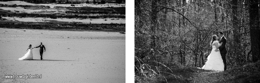 Trouwreportage KVL Leerfabriek en Drunense duinen