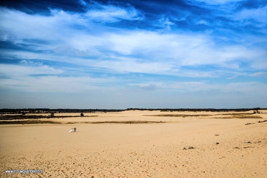 Trouwreportage Loonse en Drunense duinen