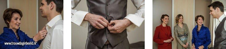 Fotograaf bruiloft het Oude Slot Heemstede